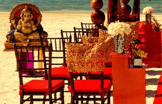 Indian Destination Wedding - Royalton Resorts - Beach