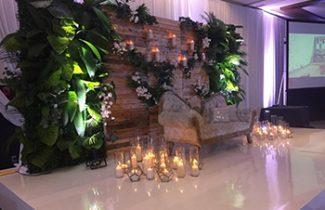 Indian Destination Wedding - Royalton Resorts - Reception Entrance