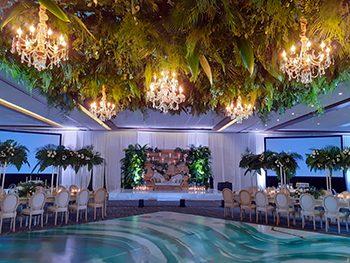 Indian Destination Wedding - Royalton Resorts - Reception
