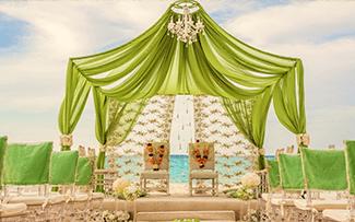 Indian Destination Wedding - Royalton Resorts - Upgraded Structure
