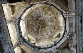 Jama Masjid - Great Mosque of Old Delhi - Dome Inside - India Tour