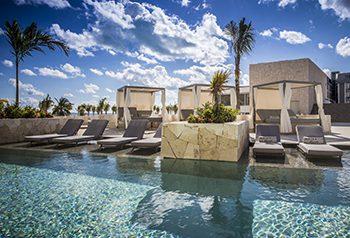 Indian Destination Wedding - Majestic Resorts - Pool