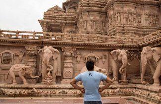 India Tour - New Delhi - Akshardham Monuments