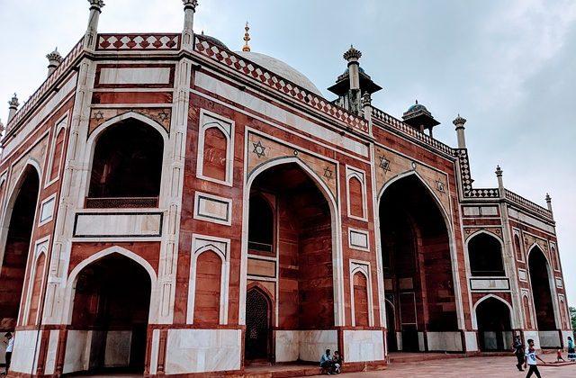 India Tour - Delhi - Goldern Triangle - Humayun Tomb - Arch