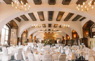 Indian Destination Wedding Fairmont Lake Louise Reception