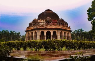 India Tour - New Delhi - Lodhi Garden - Tomb2