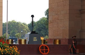 India Tour - New Delhi - India Gate - Fallen Soldier