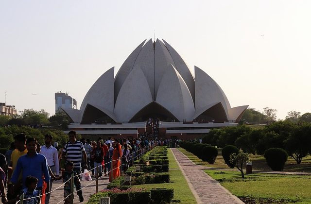 India Tour - New Delhi - Lotus Temple 2