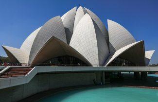 India Tour - New Delhi - Lotus Temple 3