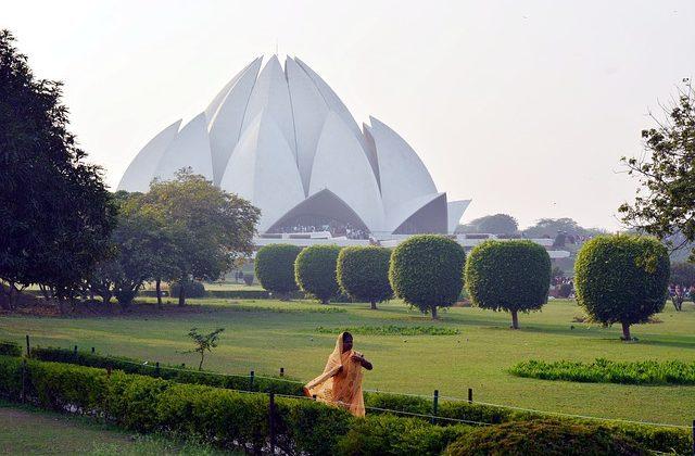 India Tour - New Delhi - Lotus Temple with Park