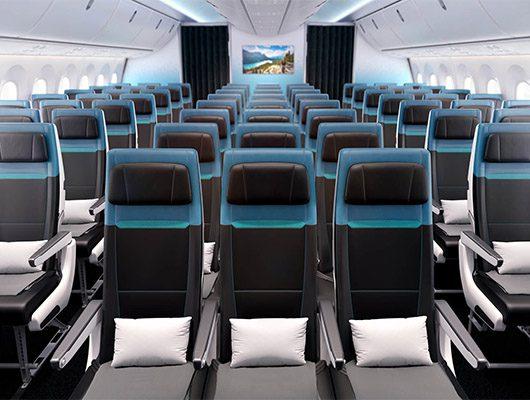 WestJet Economy seating