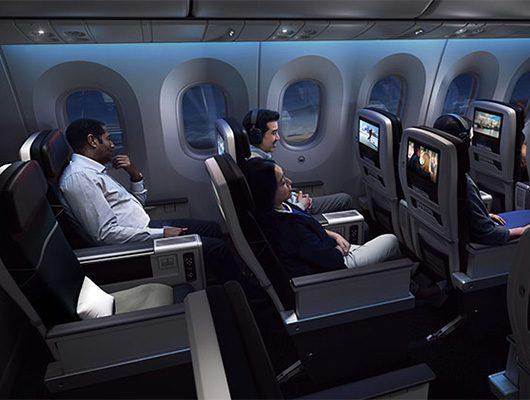 WestJet Premium Economy Entertainment