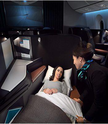 WestJet-lieflat-Business-Class