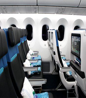 Westjet 787 Economy Entertainment