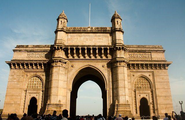 India Tour - Bombay - Gateway of India - Front