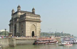 India Tour - Bombay - Gateway of India - Side View
